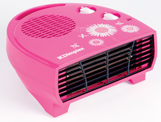 It's cool to be warm with Dimplex's colourful fan heaters
