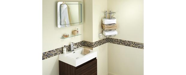 Dimplex launches new compact corner towel rail