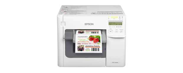 Epson Launches New TM-C3500 Colour Label Printer