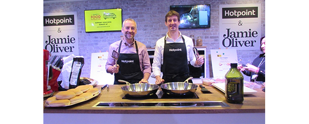 Hotpoint Participates in CEO CookOff