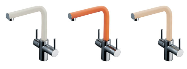 Add A Sprig Of Summer To The Kitchen With InSinkErator®'s Colourful Range Of 3N1 Taps