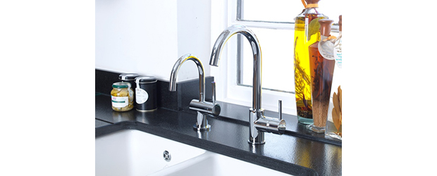 InSinkErator Unveils New Curved Mixer Tap