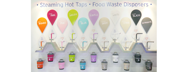 The Colourful Future Of InSinkErator® Is  Unveiled At LivingKitchen 2015