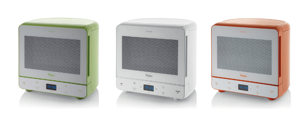 Whirlpool's Colourful MAX Collection Of Funky Microwaves Adds Freshness With White