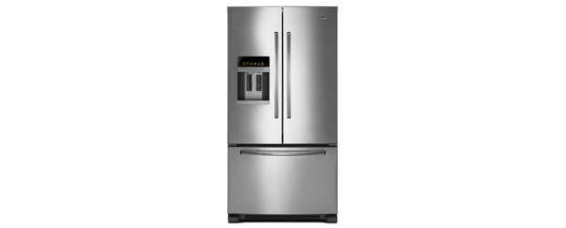 New Maytag extra-large fridge freezer with ice and water