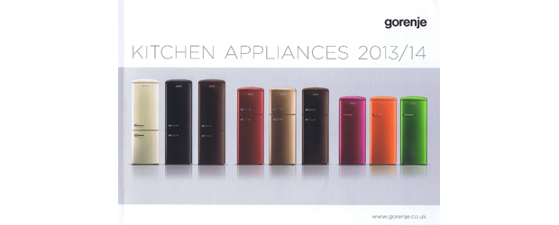 Gorenje introduces a new kitchen appliance product brochure 2013/2014