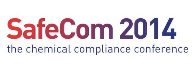 SafeCom 2014 Chemical Regulatory Conference Official Agenda Release
