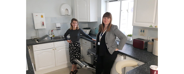 Whirlpool Donated Dishwasher to Local Charity in Support of National Quiet Day