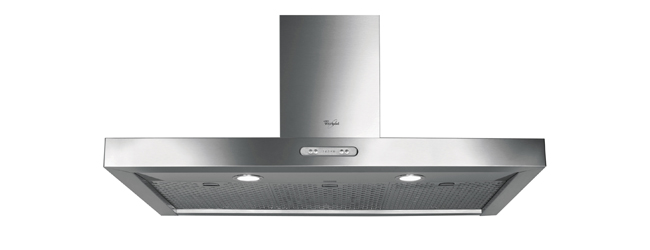 The New Whirlpool Statement Chimney Hood With New Easy To Clean iXelium™ And Intelligence