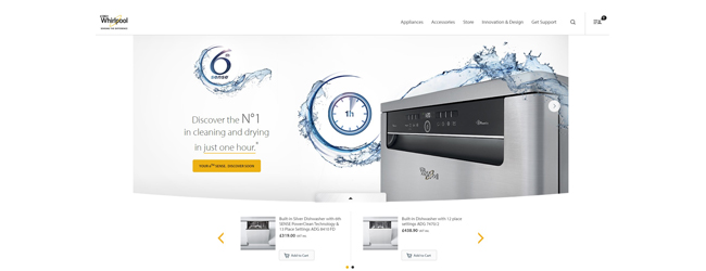 Whirlpool Launches Brand New, Fully Responsive Website To Enhance User Experience