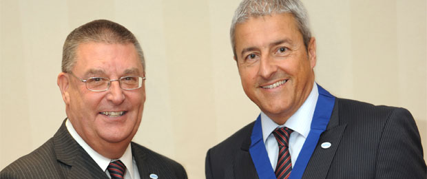 Retra Welcomes New President